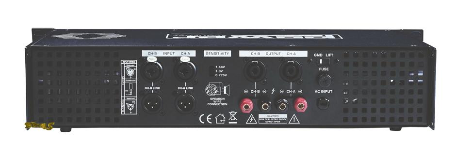 power acoustics dj 100 amplificateur Amplificateurs ampli sono