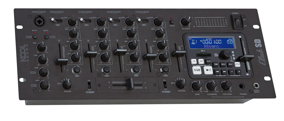 table de mixage koolsound club 04