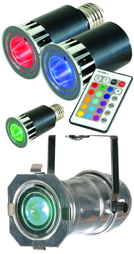 MR RGB E27 # Lampe Led Yeux