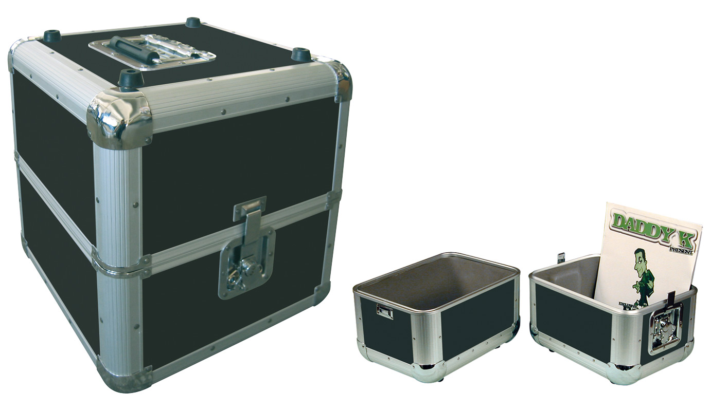 flight case pour disques cd et vinyls mat riel sonorisation clairage pas cher. Black Bedroom Furniture Sets. Home Design Ideas