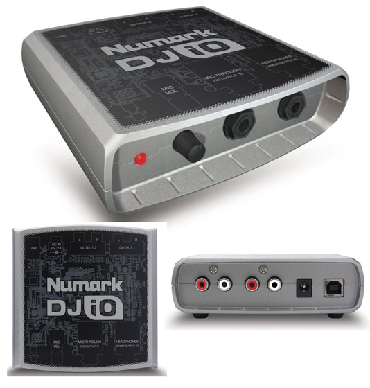 Sound Card Numark DJ I/ O Multi Channel USB 2. 0 DJ Audio Interface