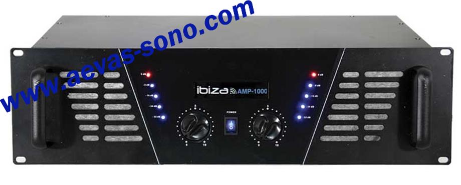ampli sono bst dj 800