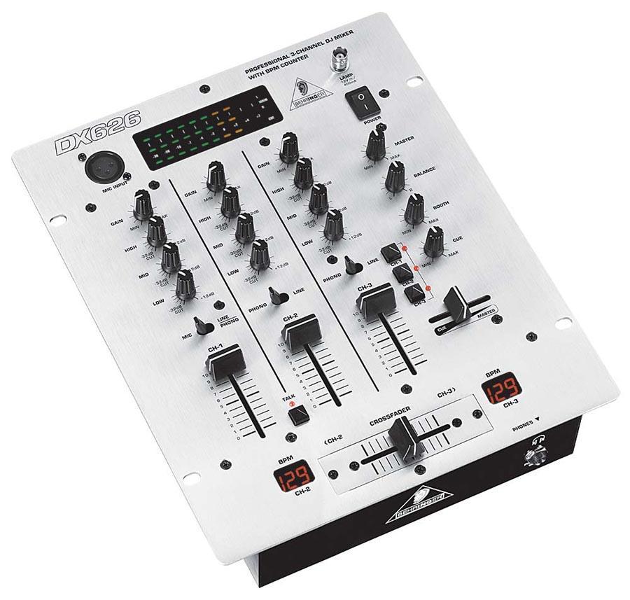 tables de mixage dj mixer dj mat riel sonorisation clairage pas cher. Black Bedroom Furniture Sets. Home Design Ideas